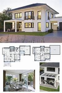 Modernes Haus Grundriss : energiesparhaus grundriss stadtvilla city life haus 250 weber haus modernes einfamilienhaus ~ Orissabook.com Haus und Dekorationen