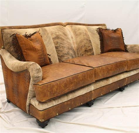 Cowhide Sectional Sofa by Western Sofa Western Living Room Furniture Cowhide Sofa