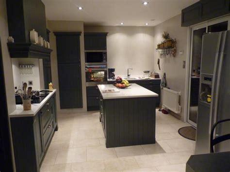 cuisine grise anthracite davaus cuisine gris anthracite mat et bois avec