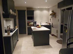 davausnet cuisine gris anthracite mat et bois avec With cuisine equipee gris anthracite