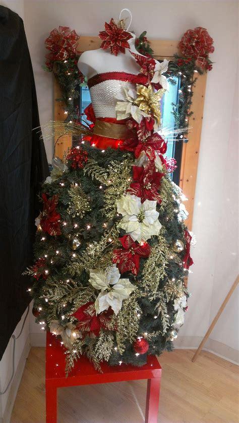 images  dress form christmas trees  pinterest
