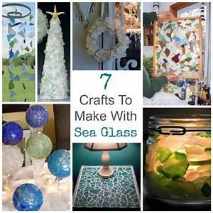 7, Crafts, To, Make, With, Sea, Glass, U2013, Glass, Art