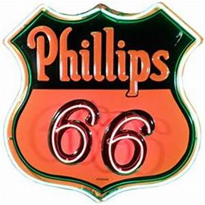 Phillips 66 Neon Sign