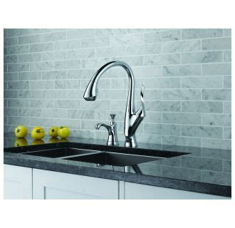 Brizo 63052LF PC Chrome Belo Pull Down Kitchen Faucet with