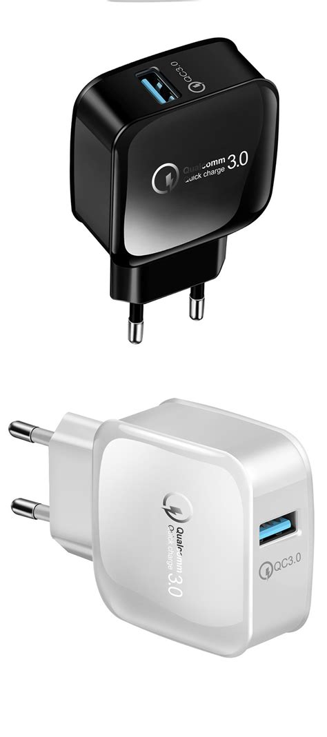 Marjay 18W 15W QC3.0 Fast Charging USB Charger Adapter For