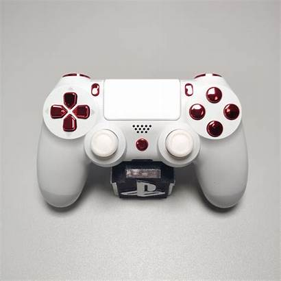 Ps4 Controller Official V2 Chrome Buttons Arctic