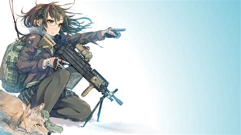 Anime With Gun Wallpaper - anime gun wallpaper with 67 items
