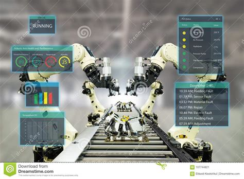 iot industry  conceptsmart factory  automation