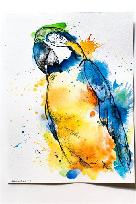 watercolor painting on plexiglass best 25 watercolor and ink ideas on