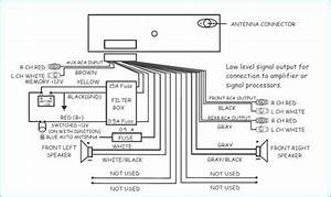 Sony Xplod Head Unit Wiring Diagram