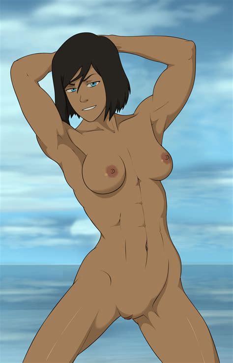 Rule 34 1girls 2016 Abs Anaxus Aqua Eyes Armpits Arms Behind Head Arms Up Avatar The Last