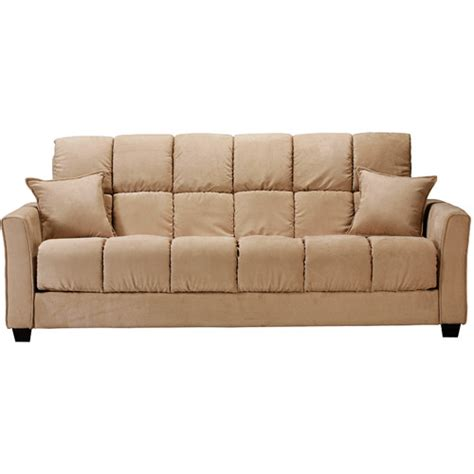 walmart furniture sofa bed baja khaki sofa bed walmart com