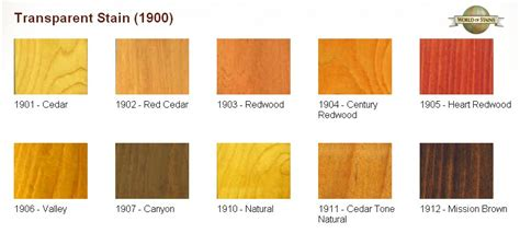 Sherwin Williams Superdeck Stain by World Of Stains Color Charts Stain Colors Links To