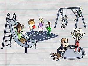 The gallery for --> School Playground Drawing
