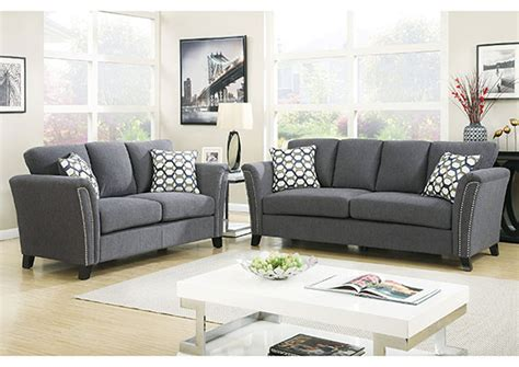 Accent Loveseat by Council S Furniture Cbell Gray Sofa And Loveseat W