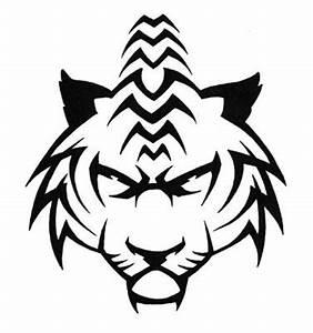 tribal tiger design | Drawing.... | Pinterest