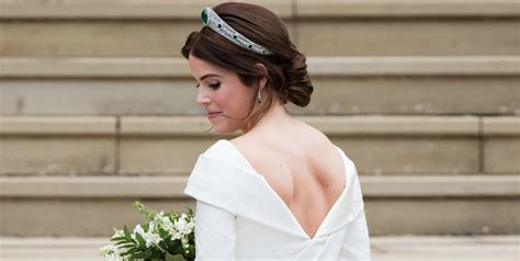 Princess Eugenie's Striking Second Wedding Dress Revealed