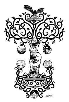 31 Yggdrasil tattoo ideas | yggdrasil tattoo, tree of life