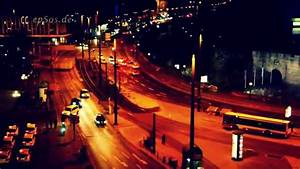 City Street Lights at Night in Europe - YouTube