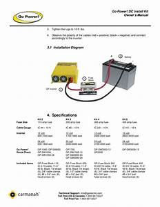 Inverter Fuse And Cable Install Kits 2600