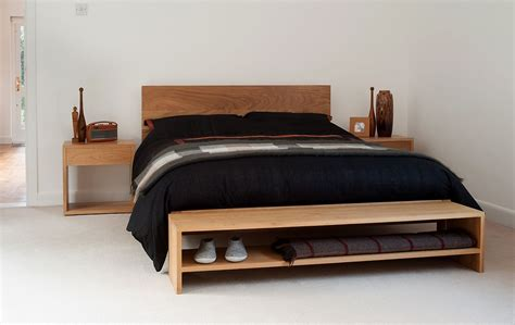 End Of Bed Storage Bench by A Stylish Solid Wood End Of Bed Bench For Bedroom