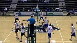 Men's Volleyball vs Marian Highlights - YouTube
