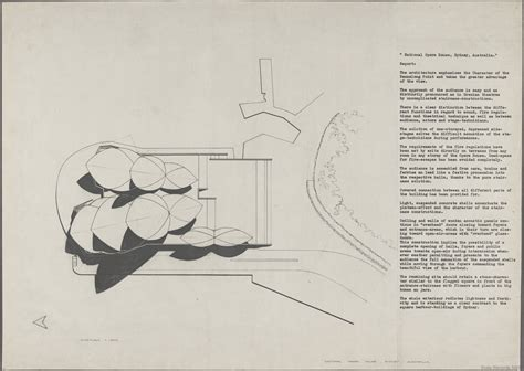 open floor plan house plans sydney opera house utzon drawings state records nsw