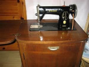 Ancienne Machine A Coudre : ancienne machine a coudre singer luckyfind ~ Melissatoandfro.com Idées de Décoration