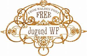 Jugend WF a free font from the Walden Font Co.