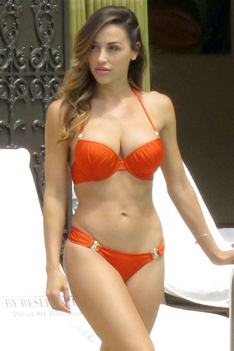 ana cheri wearing bikini  las vegas gotceleb