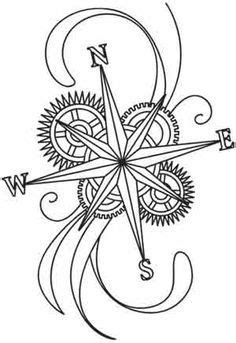 compass rose images - Google Search | Paper embroidery