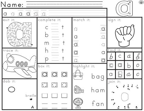 #augusthalfoff Worksheets For Letter Recognition  Work  Pinterest  Worksheets, Letter