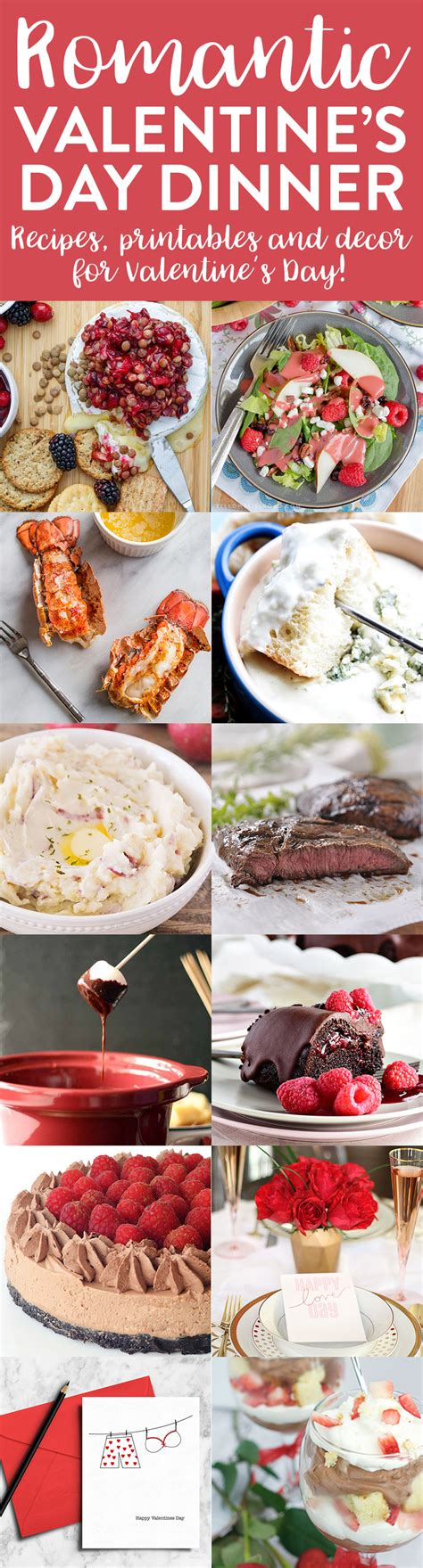 day dinner ideas 12 ideas for a romantic valentine s dinner fun squared
