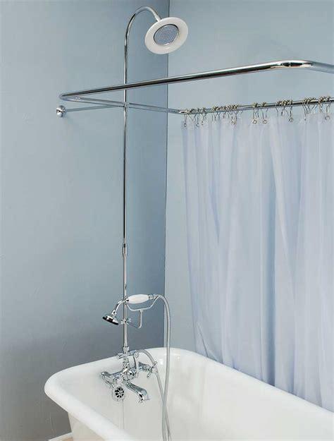 Bath Tub Set by Clawfoot Shower Sets