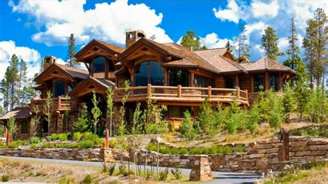 16 Astonishing Log Home Designs And Plans (photo Slideshow