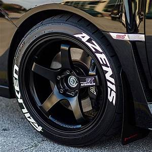 falken azenis tire lettering tire stickers With falken white letter tires