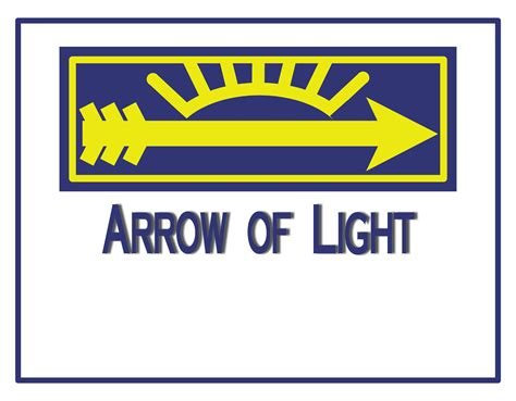 arrow of light arrow of light certificate 8 x 10 images the idea door