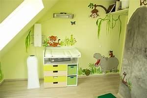 Wandgestaltung Selber Machen : wandgestaltung kinderzimmer dschungel selber machen 1 ~ Lizthompson.info Haus und Dekorationen