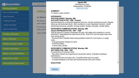 Microsoft Resume Maker by Buy Resume Maker Microsoft Store