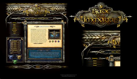 fantasy interface template