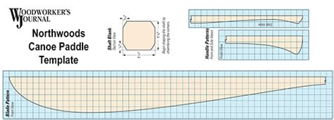 Paddle Template by How To Make A Canoe Paddle Plans Template