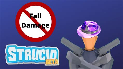 fall damage glitch  strucid youtube
