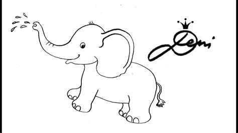 bilder zum nachmalen für kinder elefant schnell zeichnen lernen tiere zoo f 252 r kinder how to draw как се рисува слонче