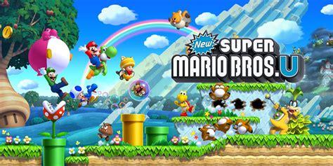 New Super Mario Bros U New Super Luigi U Wii U