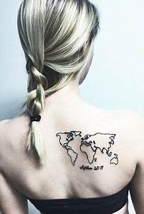 Matthew 28:19 & world map tattoo | Tattoos | Pinterest ...