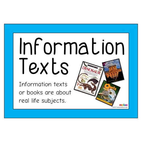information texts english ks ks