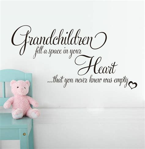 Wall Quotes About Grandchildren