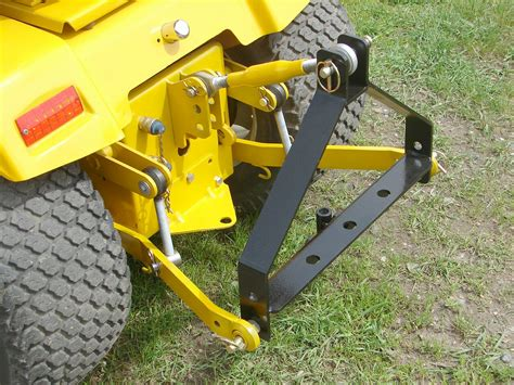 Step By Step Deck Building Instructions by International Harvester Ih Cub Cadet 3 Points Sleeve Hitch
