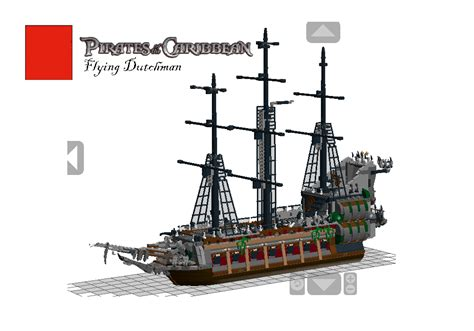 Pirates Of The Caribbean Flying Dutchman