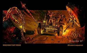 Le Plein De Concept Arts Pour Mad Max Fury Road